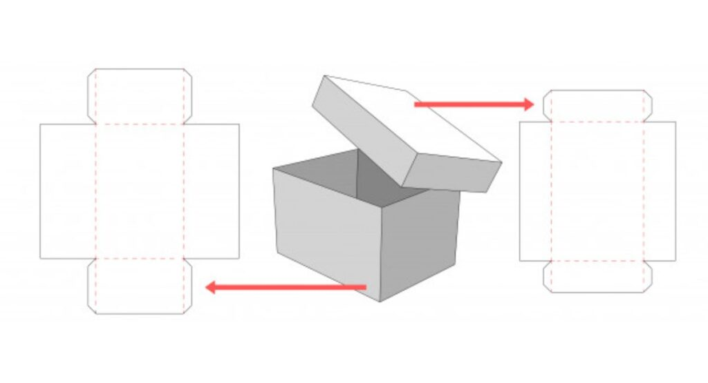 Box With Lid Template