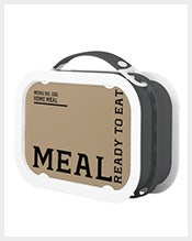 Ready to Eat Lunch Meal Box Template1